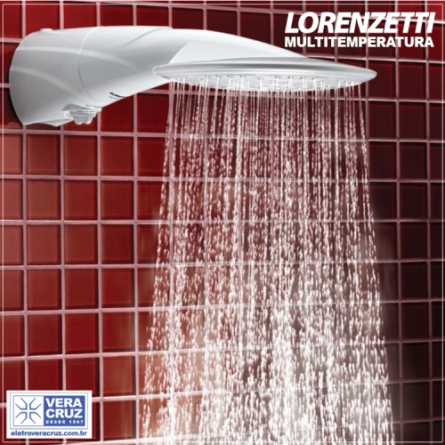 Ducha Advanced Multitemperatura Lorenzetti 127V - 220V | 5500W - 7500W